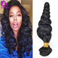 8A Malaysian Loose Wave Virgin Hair 4Bundles Malaysian Loose Curly Human Hair Extensions Cheap Malaysian Virgin Hair Loose Wave