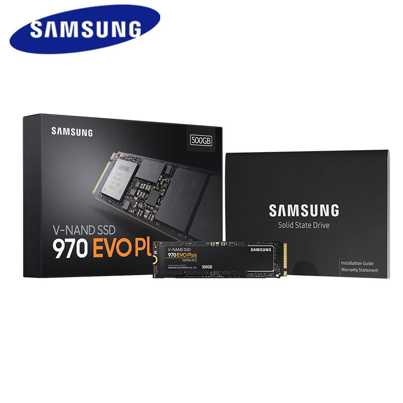 SAMSUNG SSD M.2 1 to 250 go 500 go 970 EVO Plus NVMe disque dur à semi-conducteurs interne M2 2280 TLC PCIe Gen 3.0x4, NVMe 1.3