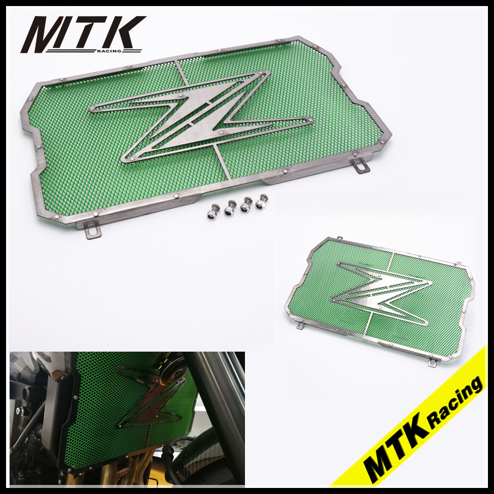 MTKRACING for kawasaki Z900 Radiator Guard Radiator Grill Protector for kawasaki Z 900 2017 moto Motorcycle Accessories kemimoto radiator guard for kawasaki z900 2017 radiator grill protector for kawasaki z 900 2017 moto motocycle parts accessories
