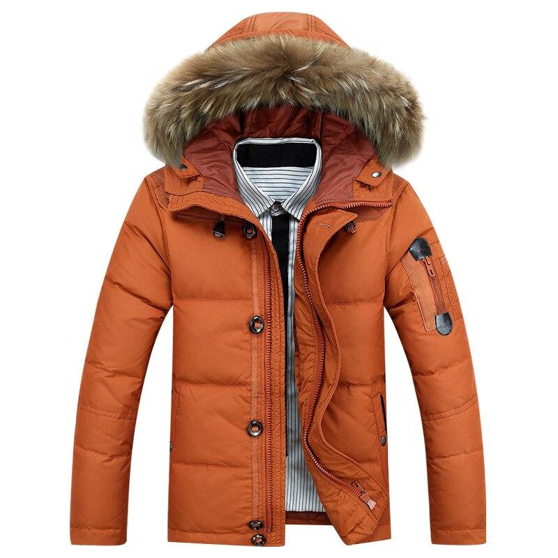 Manteau À Épaisse M Veste Vers Taille Black Chaud Le orange Woxingwosu green Court Casual khaki Outwear Jeunes Capuchon 3xl Bas Hommes P5qWYw4