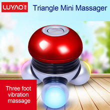c23 free shipping  River electric vibration massage instrument portable multifunctional miniature Mini Massager body acupoint