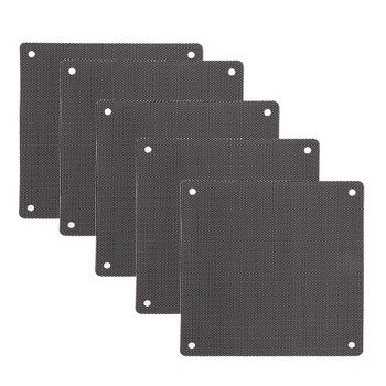 5Pc Computer Mesh PVC Case Fan Dust Filt...