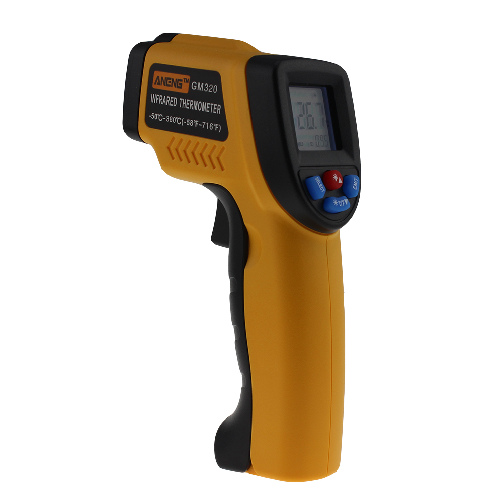 "GM320 -50-380C Usb thermal camera infrared thermometer hygrometer weather station temperature controller 6"" adult termometer image"