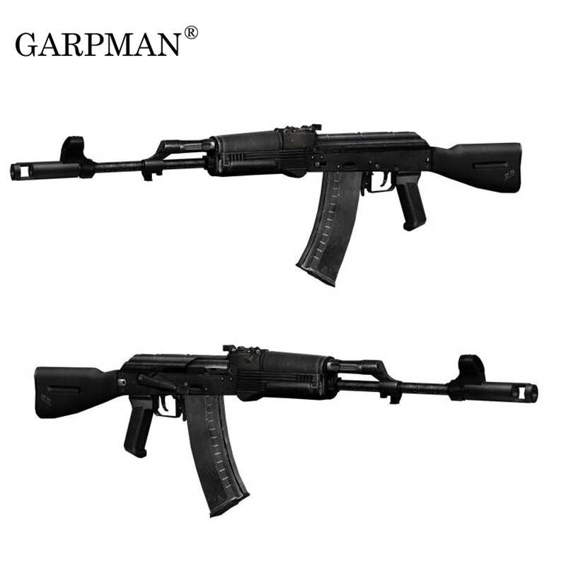 1:1 CS Gun Ak74-ak103 Senapan 3D Model Kertas Manual DIY Mainan