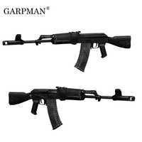 1:1 CS Gun Ak74-ak103 Rifle 3D Paper Model Manual DIY Toy