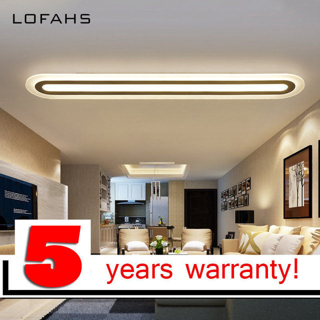 LOFAHS LED Decke Kronleuchter Moderne Plexiglas Küche Home ...