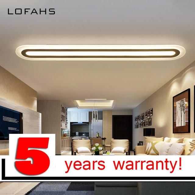 Lofahs Led Plafond Lustre Moderne Plexiglas Cuisine Eclairage A La Maison Pour Salle Manger Couloir Lampe De Techo Luminaire