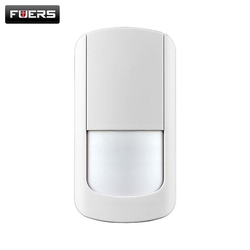 G90B Infrarot Motion Wireless PIR detektor für Sicherheit Home Alarm System Motion Detektor Alarm Sensor Weiß