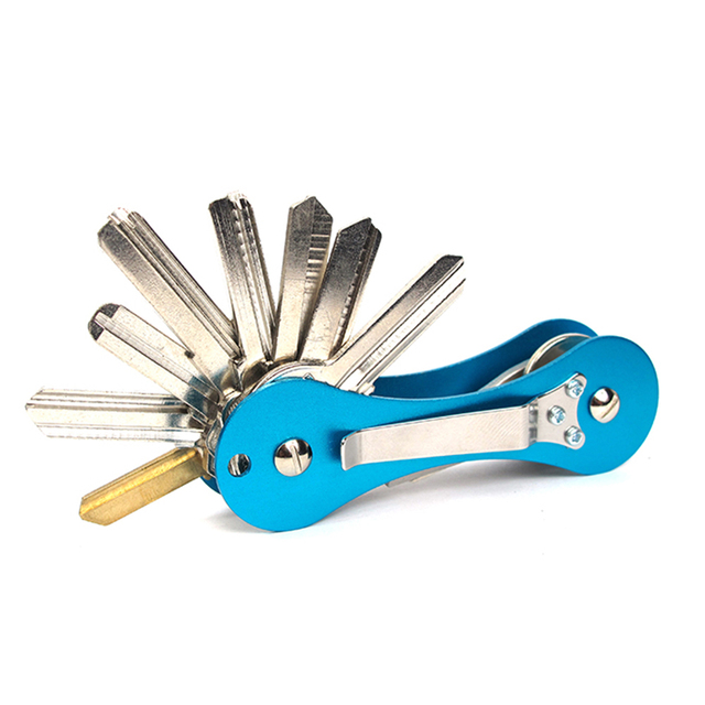 Smart Key Держатель Алюминиевого Сплава Keybone Ключевые Организатор Держатель Легкий Путешествия Держатель Ключа Автомобиля Ключ Бар Открытый Multi Tool
