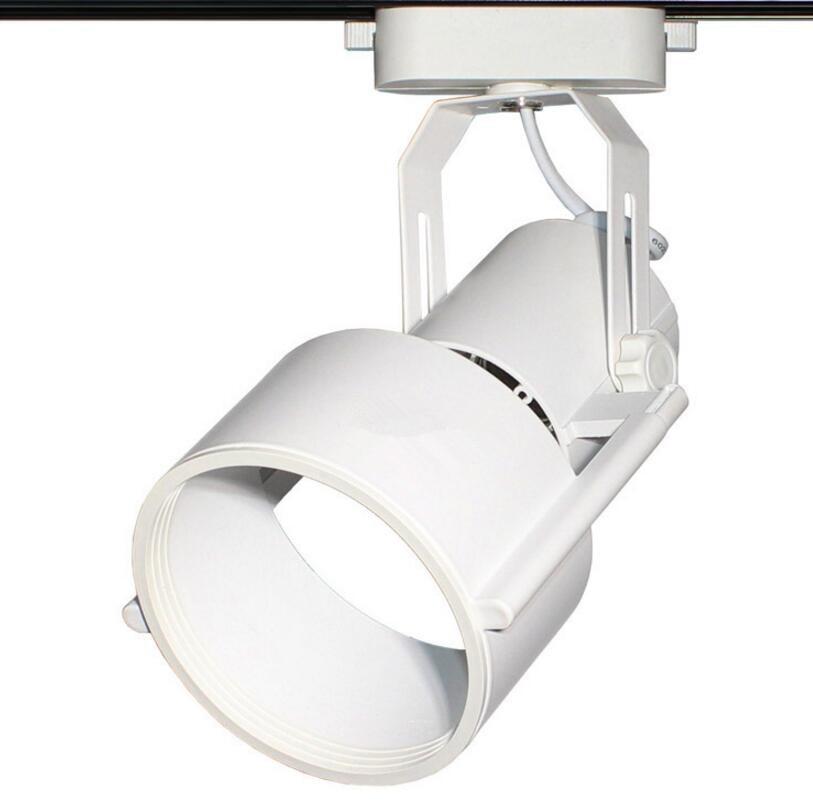 10W 15W 20W 30W E27 PAR30 2 line COB LED Track Light Spot Wall Lamp Soptlight Tracking LED LIGHT AC110V/AC220V-240V led par30 lamp 30w 40w 50w track light flood light bulb par30 e27 cob osram led warm white spot lamp for kitchen clothes shop