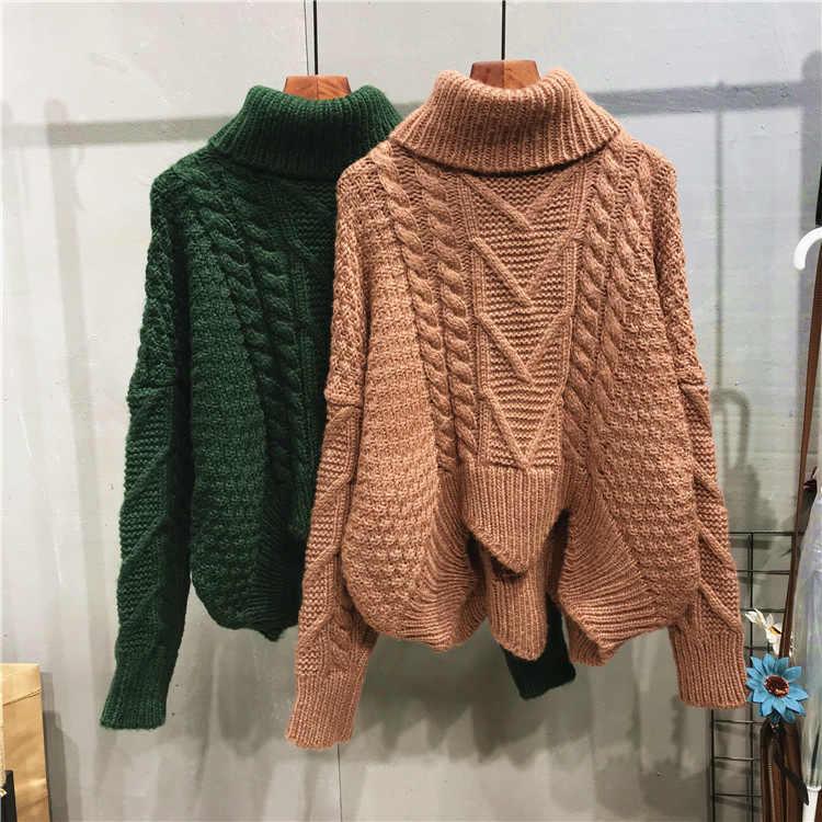 ... suéter Mujer. US  23.43. 0.0 (0). 1 Pedidos. Diario ropa femenina de  Otoño de 2018 de moda de invierno de punto Irregular de cuello 50e512d9b2f6