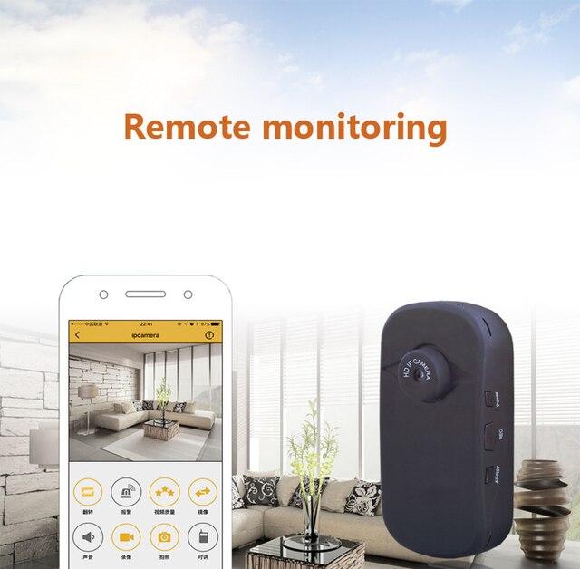 Lnzee W25 mini camera intelligent digital camera 720P mobile phone remote Wifi wireless mini DV camera free shipping