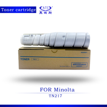 New Copier Spare Parts 1PCS 360G Toner Photocopy Machine Toner Cartridge for Minolta TN217 Bizhub 223/283/7828