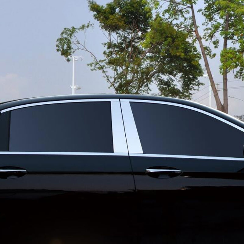 4pcs Aluminum Alloy Window Moulding Trim Decoration For Mercedes Benz E Class W213 E200 E300L 2016 AMG Car Styling Accessories auto fuel filter 163 477 0201 163 477 0701 for mercedes benz