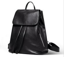 2016 spring and summer new Korean version of the influx of women's shoulder bag leather shoulder bag leather leisure backpack