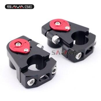 For KTM 690 DUKE/R/SMC/SMC-R/Enduro R NEW Motorcycle Adjustable Handlebar Riser Bar Clamp Extend Adapter