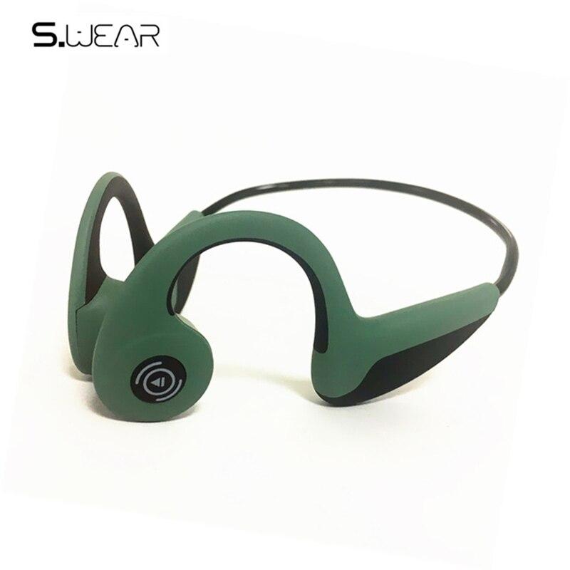 Expédition en 48 heures!! Bluetooth 5.0 S. Wear Z8 casque sans fil écouteurs à Conduction osseuse casque de Sport en plein air avec micro avec boîte