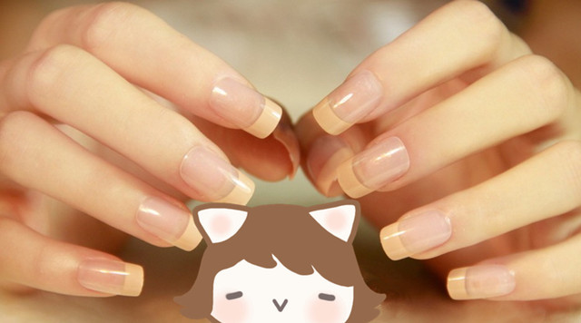 24pcs nude color acrylic full cover nail tips fashion french false 24pcs nude color acrylic full cover nail tips fashion french false nail art sticker artificial pre prinsesfo Images