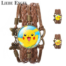 Cute Pikachu Bracelets & Bangles
