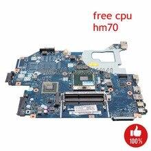 NOKOTION Q5WV1 LA-7912P материнская плата для ноутбука acer V3-571 E1-571G основная плата NBC1F11001 NB. C1F11.001 HM70 SJTNV DDR3 Бесплатная Процессор