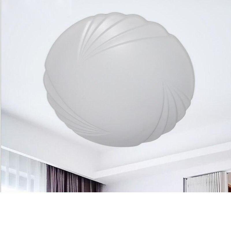 Nowoczesne minimalistyczne lampy pokojowe badania lampa sufitowa akrylowa LED lampa sufitowa salon lampy sufitowe mody salon oświetlenie led w Oświetlenie sufitowe od Lampy i oświetlenie na Shop3022001 Store