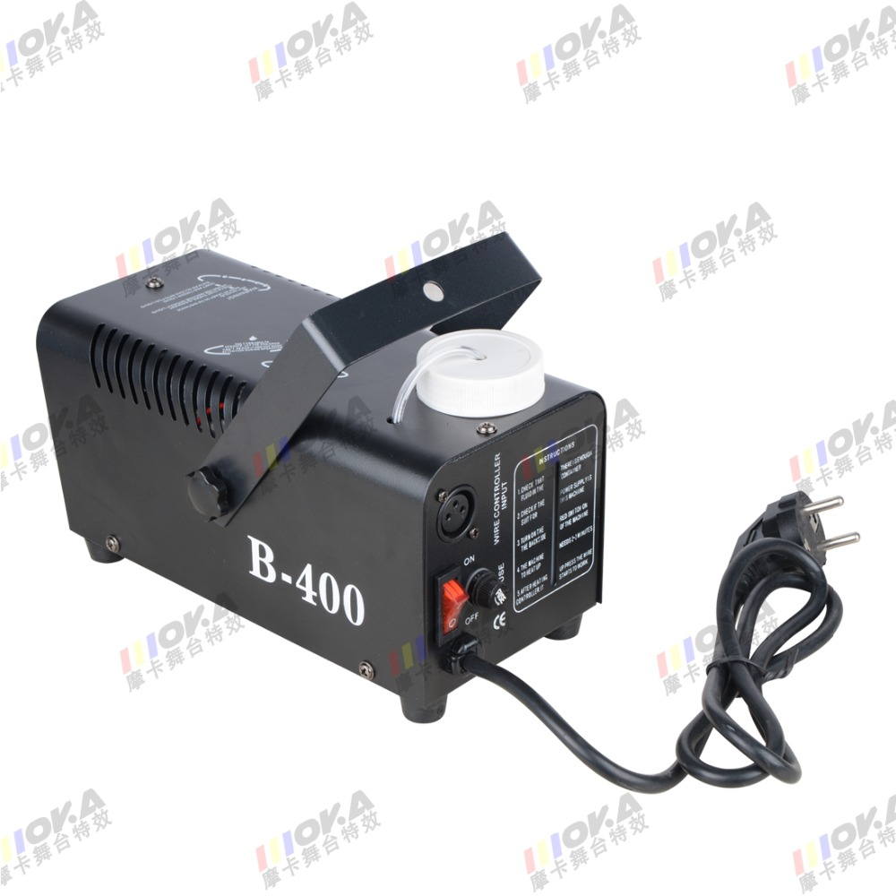 6 piece DJ machine mini smoke generator 400W smoke machine remote controller dj lighting smoke effect цена