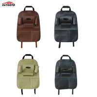 ZATOOTO Car Auto Back Car Seat Back Organizer Holder Universal Car Seat Hanging Bag Travel Box Pocket Car Accessories
