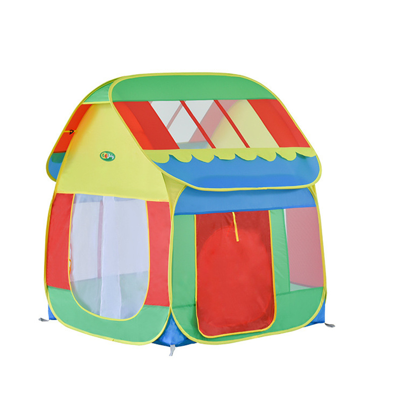 Automatic Folding Speed Open Children Tent Indoor Game Room House Camping & Hiking Tents Children's Baby Princess Tent outdoor puzzle folding mongolia bag game house tents