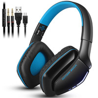Bluetooth Headphones With Microphone Noise Isolation Foldable Gaming Headset With Mic Wired Headphones For PS4 For