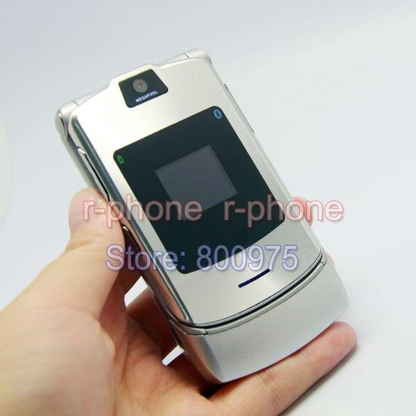 Цена за Горячие Продажи Классический Разблокирована Motorola RAZR V3i Мобильный Сотовый Телефон Восстановленное 2 Г GSM Телефон