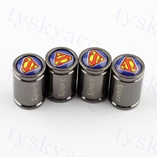 Superman Styling Tyre Valve Cover