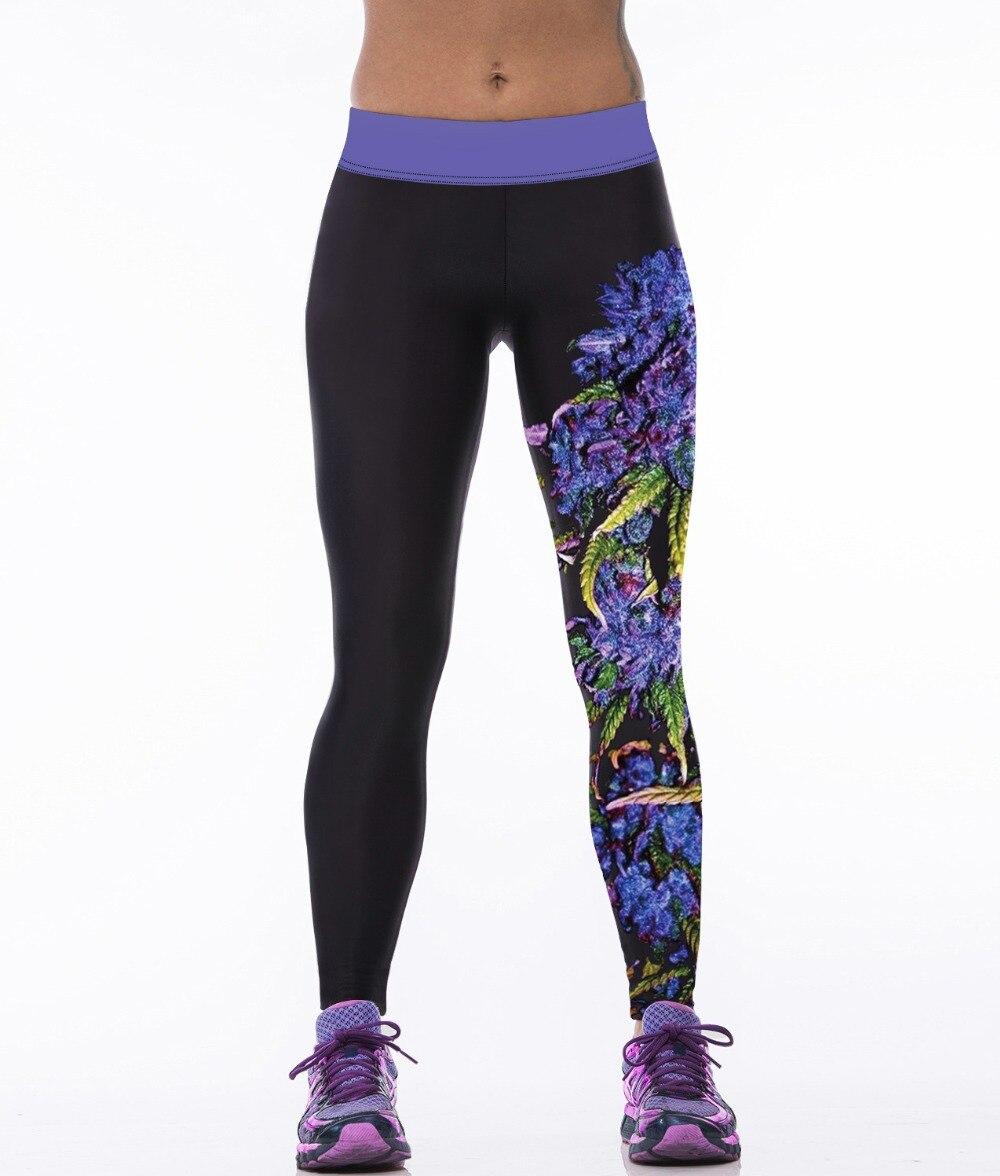 Hot Purple Szőlő nyomtatás Rugalmas női leggings Piros Iron Man Red 2XL 3XL Sport Pants 3 Minta