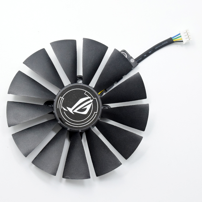 For ASUS STRIX RX 470 580 570 GTX 1050Ti 1070Ti 1080Ti T129215SM 95MM Graphics Card Cooler Fan