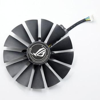 Para ASUS STRIX RX 470 580 570 GTX 1050Ti 1070Ti 1080Ti T129215SM 95MM ventilador refrigerador de tarjeta gráfica