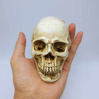 Halloween Silicone Mold Skull DIY Soap Candle Chocolate 3D Mold Horror Skull Cake Decorating Tool