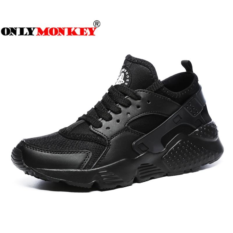 ONLYMONKEY Saludable Vulcanizan Los Zapatos de Los Hombres Respirables Duradero y antideslizante Suela de Los Zapatos Ocasionales Hombres Absorbente y Masaje de Los Hombres zapatos