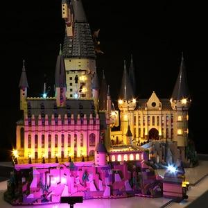 Image 3 - Led ışık seti uyumlu Lego 71043 Harry film 16060 yaratıcı Hogwarts kale yapı taşları tuğla oyuncaklar (sadece led ışık s)