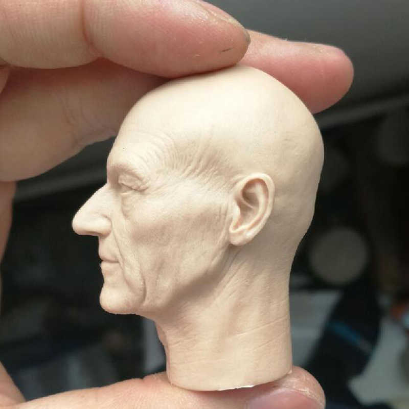 """Blank Hot 1//6 Scale Football Star Andres Iniesta Head Sculpt Unpainted Fit 12/"""""""