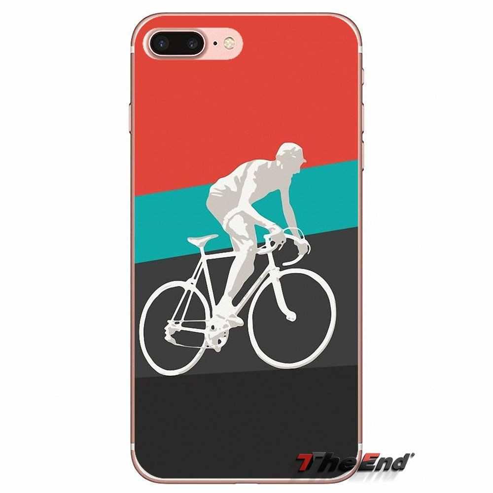 Cervelo Bike Team Bicycle Cycling TPU Case For Sony Xperia Z Z1 Z2 Z3 Z5 compact M2 M4 M5 E3 T3 XA Aqua LG G4 G5 G3 G2 Mini Capa