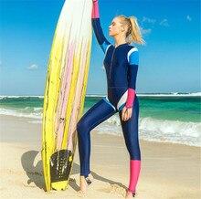 SBART Women Rash Guard Jellyfish Clothes Wetsuit Women Long Sleeve Full Body Wetsuits Swimsuit Snorkeling Surfing Diving Suit цена в Москве и Питере