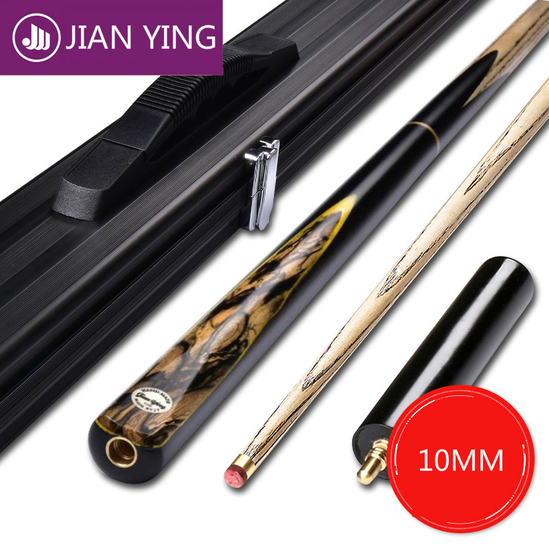 Jianying billard Club petite tête noir 8 billard britannique billard queue ensemble Octave simple main Club piscine queue Biljard Accessoires