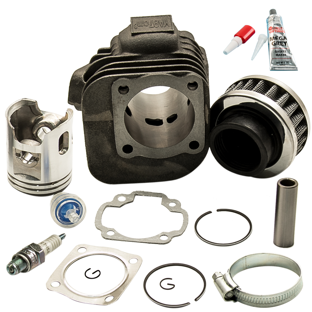 Cylindre Piston Kit Joints Pour Polaris PREDATOR 90 90CC 2003-2006 03 w/Cylindre