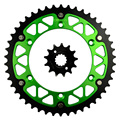 13/46T Motorcycle Front and Rear Sprocket Kit for KAWASAKI 250 KLX250 SDF SEF 2013-2014 / KLX 250 S 2006-2007 2009-2013