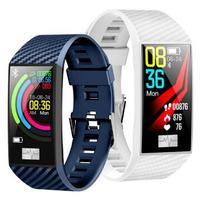 Smart Wristband DT58 Heart rate Watches ECG Smart Bracelet fitness tracker Smart band reloj PK xiaomi