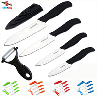 FINDKING Brand Top Quality Zirconia Ceramic Knife Set 3 4 5 6 Inch Peeler Covers Kitchen