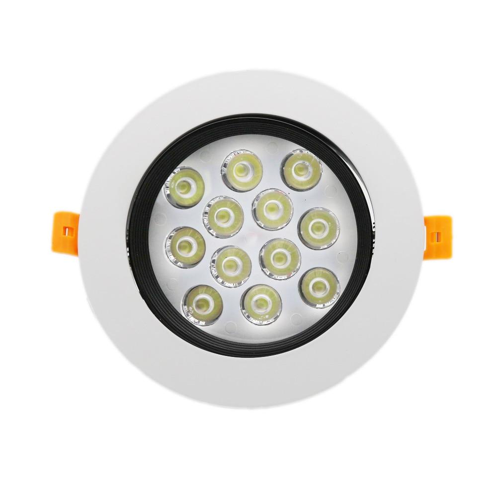 20X Downlight 12W Ceiling Light 85 265V Embedded Wall Light ...