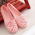 Garden Shoes Mules Clogs Woman Casual Solid Comfortable Flats Sandals Slip Shock Absorbing Slippers Home Slippers Big Size 41