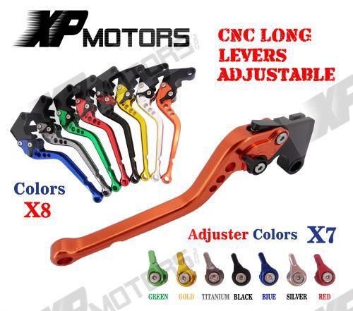 CNC Long Adjusatable Brake Clutch Lever For Honda CBR125R CBR150R 2004 - 2012 2005 2006 2008 2010 CBR 125R 150R NEW ветровик rein для honda cr v iii 2006 2012 кроссовер на накладной скотч 3м 4 шт