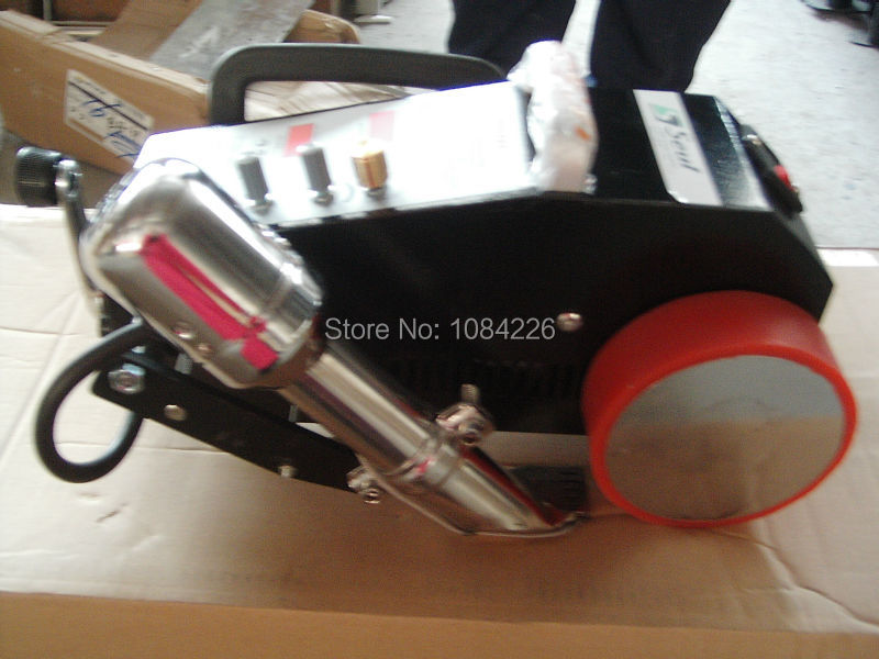 <font><b>200</b></font> <font><b>inverter</b></font> welder hot air automatic welding machine Intelligent Seaming welder with hot air/Banner Jointing for Plastic /Pvc image