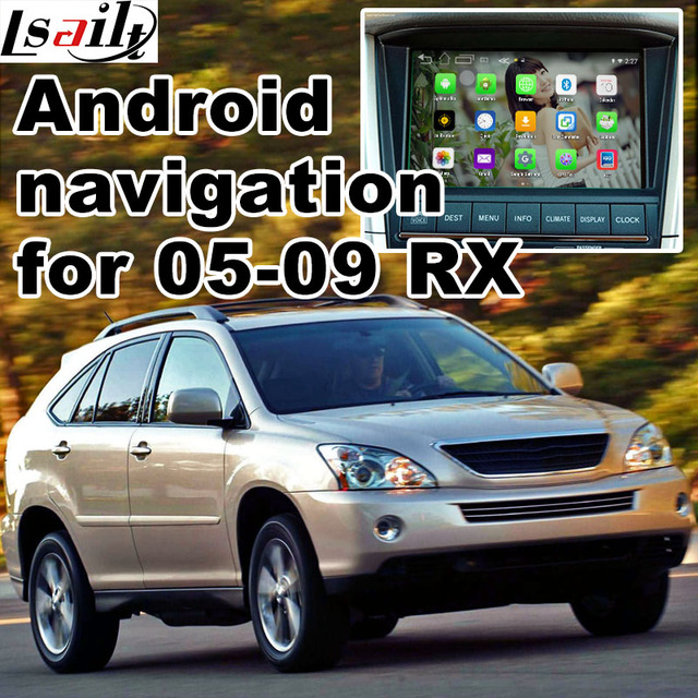 Android 6.0 GPS navigation box for Lexus RX400h RX330 2005 2009 ...